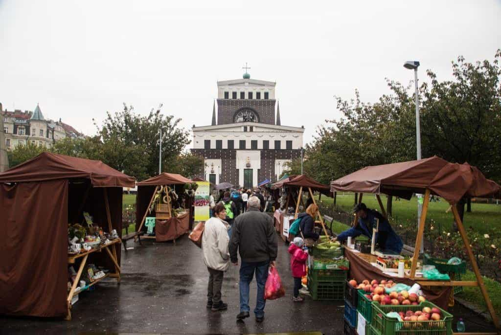 Jablečné slavnosti náměstí Jiřího z Poděbrad