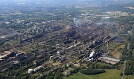 Hutě ArcelorMittal v Ostravě