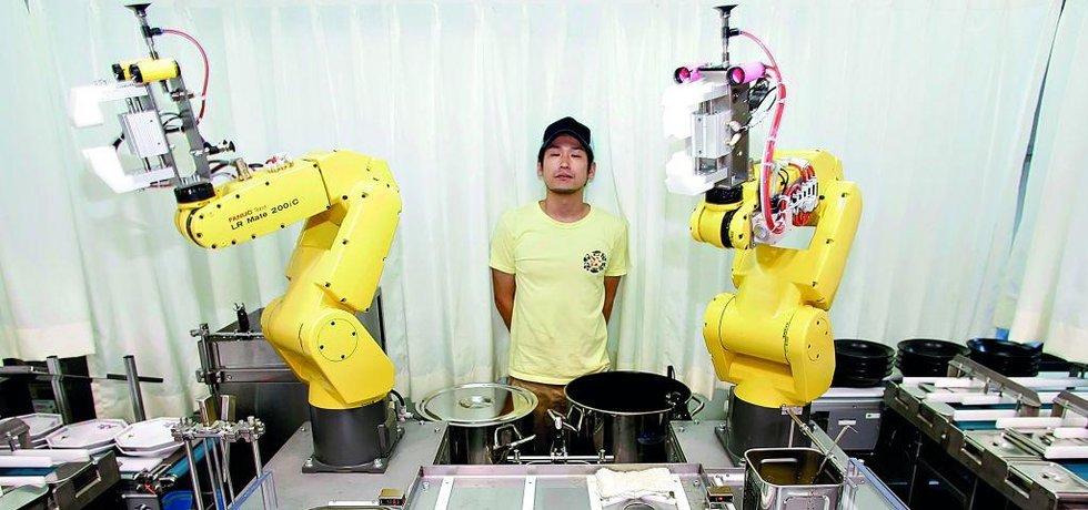Robot v kuchyni