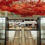 Hlavní terminál letiště Berlin Brandenburg Willy Brandt v roce 2012.