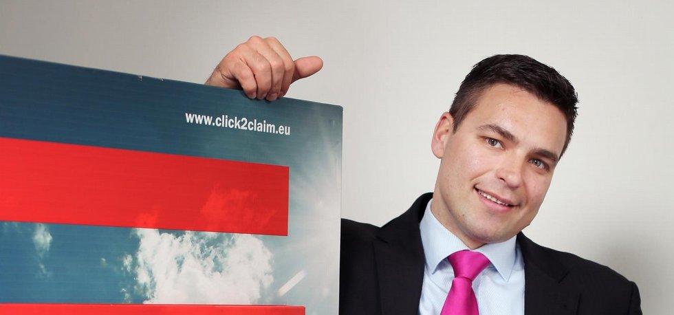 Generální ředitel Click2Claim František Herynk.