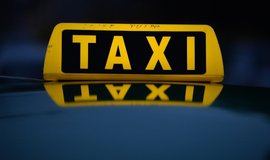 Taxi - ilustrační foto