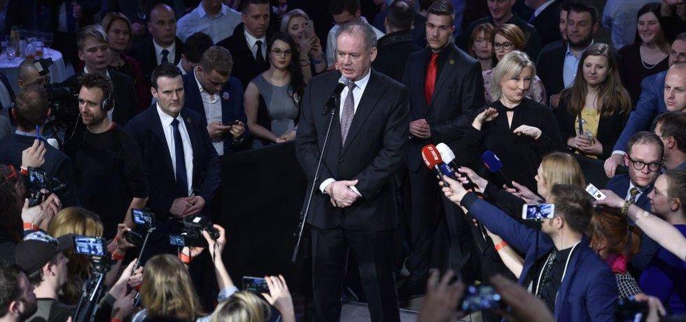 Končící prezident Andrej Kiska
