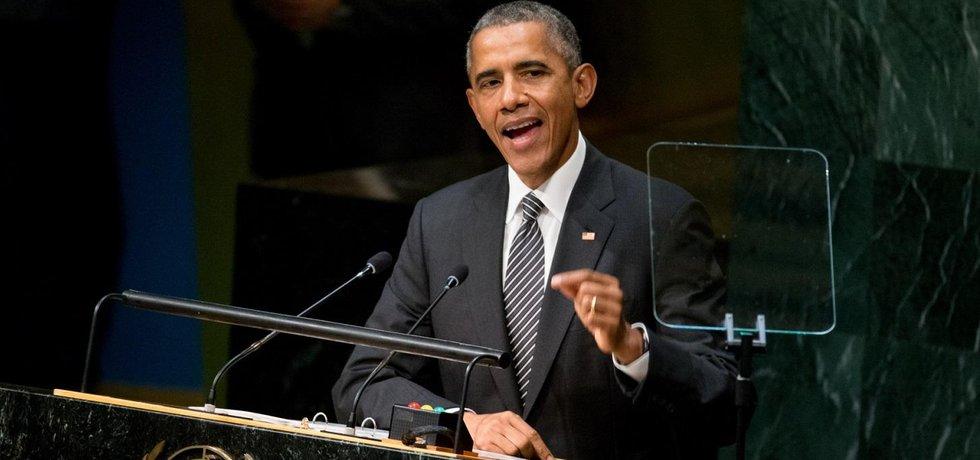 Americký prezident Barack Obama v OSN