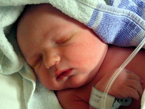miminko, porodnice, porod, dítě