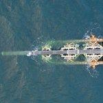 Pokládání potrubí plynovodu Nord Stream 2 lodí Audacia v německých vodách