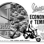 Dobová inzerce Vespa – Brazílie, 1960
