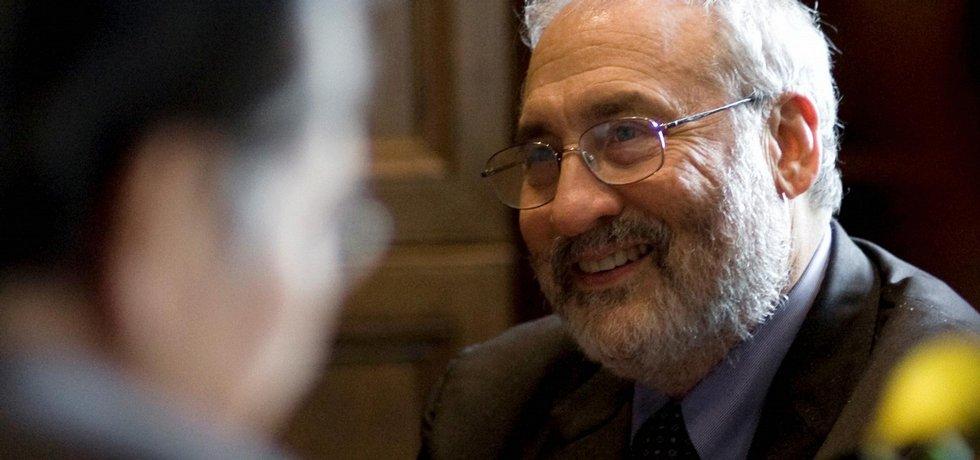 Americký ekonom Joseph E. Stiglitz