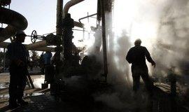 Rafinérie v Teheránu, ilustrační foto