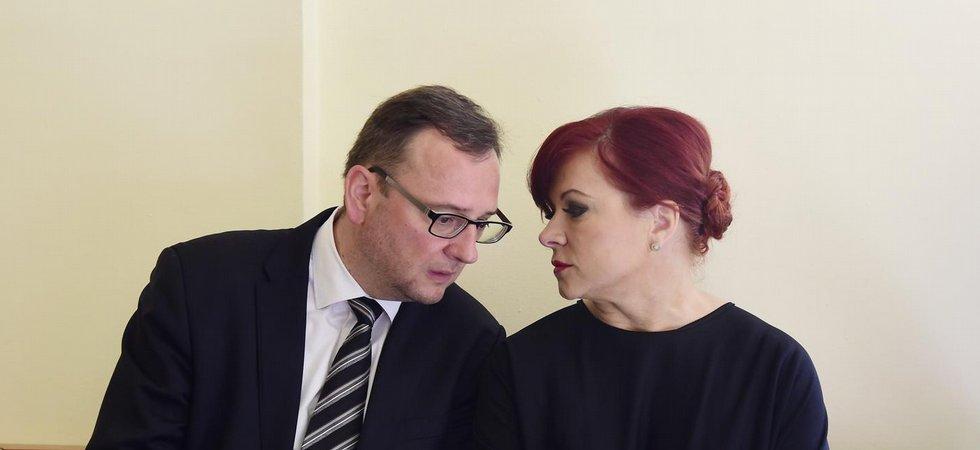 Jan Nagyová (Nečasová) a Petr Nečas