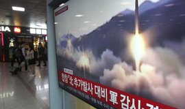 Test severokorejské rakety, ilustrační foto