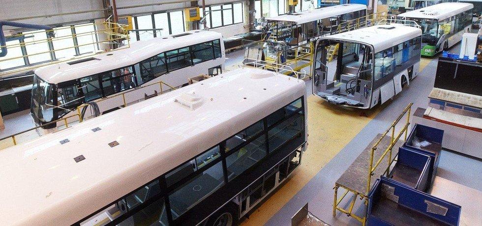 Výroba autobusů ve společnosti  SOR Libchavy