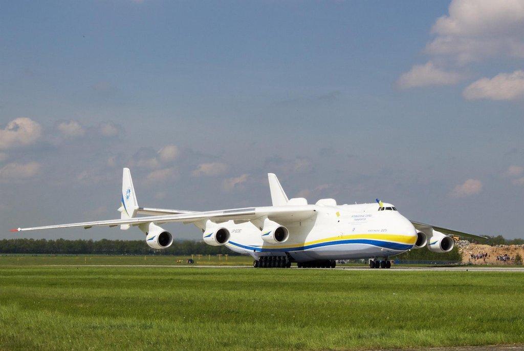 Antonov An-225 Mrija v Praze