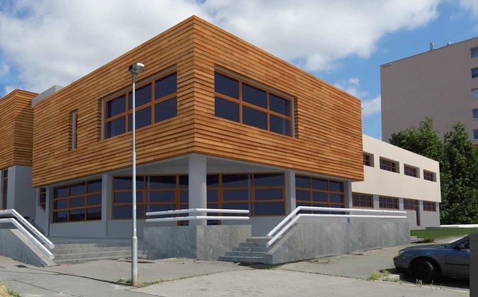 Městská část Praha 13 letos dokončí přestavbu bývalého sportovního centra na mateřskou školku
