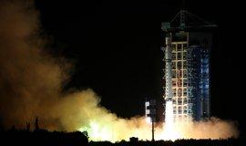 Čína vypustila do vesmíru jako první kvantový satelit z centra ve Jiuquanu (Zdroj: ČTK)