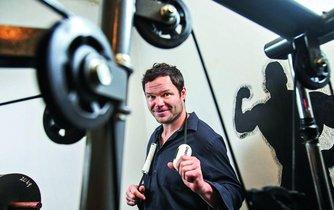 Martin Kofroň, původce cvičební pomůcky Marrko Core