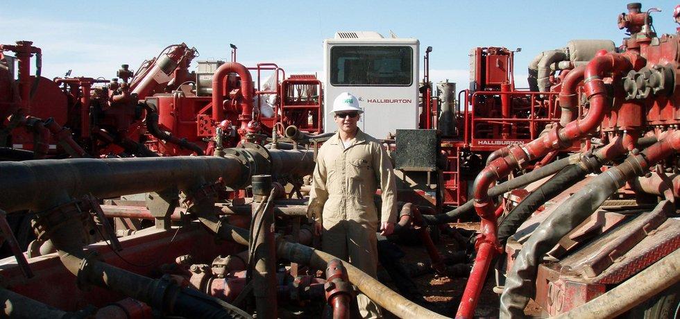 Těžba z břidlicových ložisek v USA, ilustrační foto