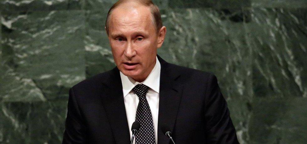 Ruský prezident Vladimir Putin v OSN