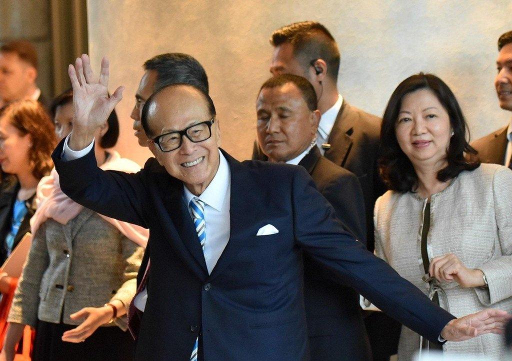 Miliardář Li Ka-shing, ilustrační foto