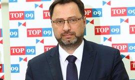 Šéf poslaneckého klubu TOP09 a Starostů Michal Kučera
