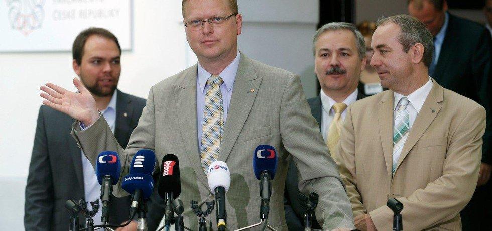 Pavel Bělobrádek a Jiří Mihola