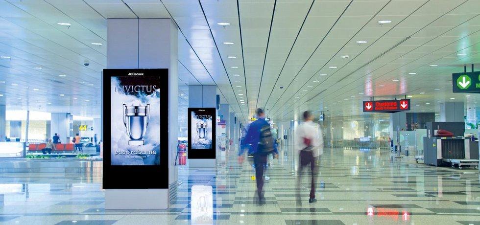 Mobiliář na letišti