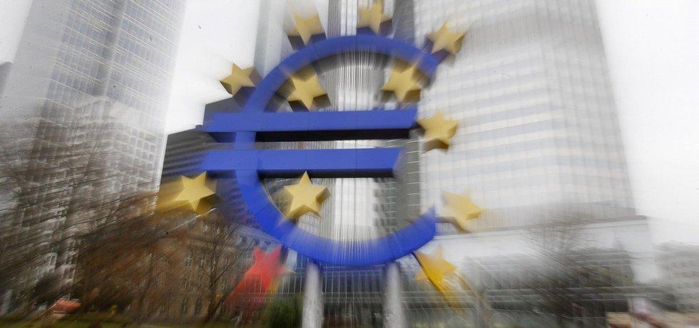 Sídlo ECB ve Frankfurtu,