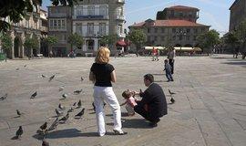Španělské město Pontevedra, ilustrační foto