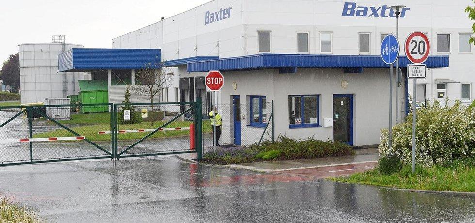 Továrna Gambro v Přerově, kterou nechá společnost Baxter uzavřít