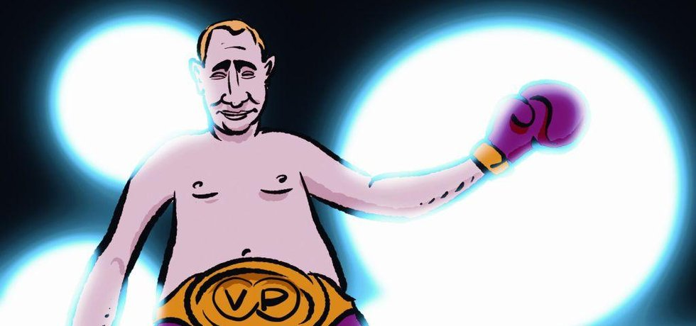 Putin knouck-outoval Trumpa