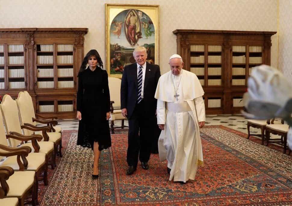 Papež František přijal v květnu 2017 amerického prezidenta Donalda Trumpa, který odmítá dohodu o klimatu z Paříže.