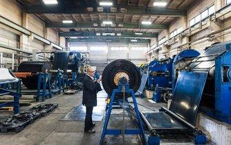 Průmyslová výroba v Německu - ilustrační foto