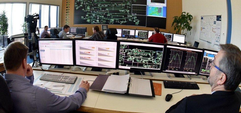 Energetičtí dispečeři firmy 50Hertz Transmission. Ilustrační foto.