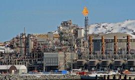 Plynová rafinerie v západním Norsku, ilustrační foto