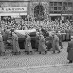 Pohřeb prvního dělnického prezidenta Klementa Gottwalda v březnu 1953
