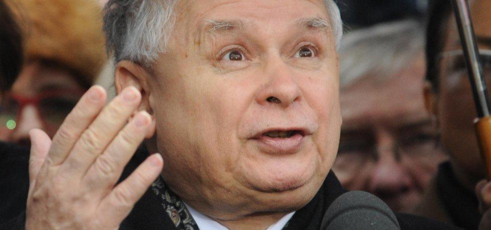 Šéf polské PiS Jaroslaw Kaczyński