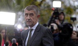 Předseda hnutí ANO a designovaný premiér Andrej Babiš