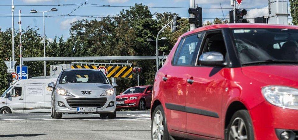 Česká silnice, ilustrační foto