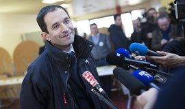 Kandidát na francouzského prezidenta Benoit Hamon