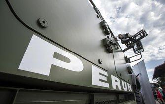 Armádní obrněné vozidlo Perun firmy SVOS Přelouč