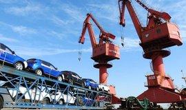 Export čínských vozů, ilustrační foto