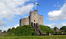Cardiff Castle (Autor: Bell Eapen, CC BY 2.0, Flickr)