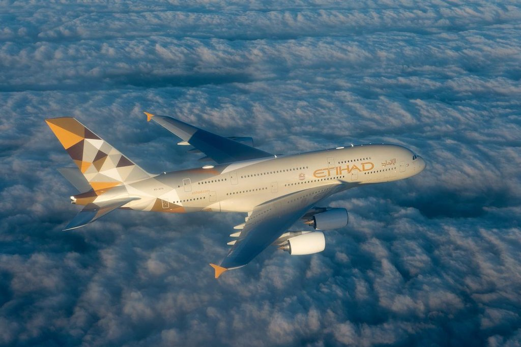 Airbus A380-800 Etihad Airways
