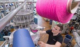 Textilní průmysl, ilustrační foto