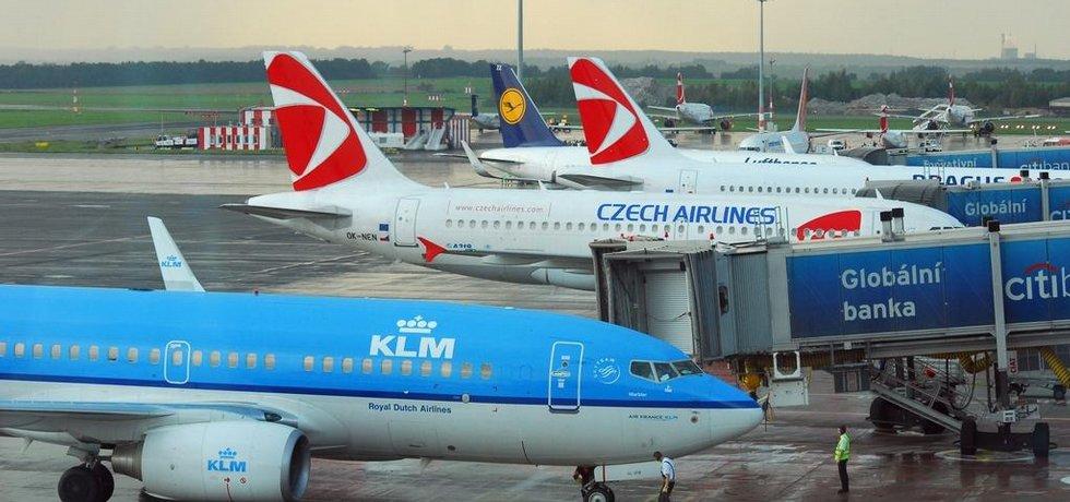 Pražské letiště - ilustrační foto