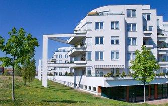 Nová bytová výstavba na sídlišti Barrandov v Praze