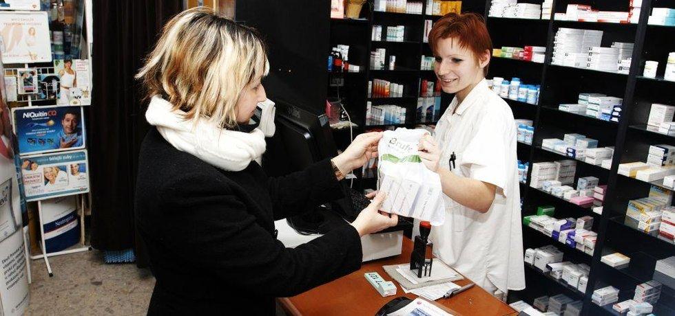 Lékárna, ilustrační foto