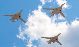 Ruské bombardéry Tu-160 - ilustrační foto