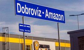 železniční zastávka Dobrovíz - Amazon, ilustrační foto