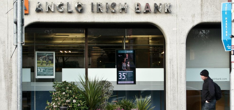 Anglo Irish Bank chce po Quinnovi 2,9 miliardy eur